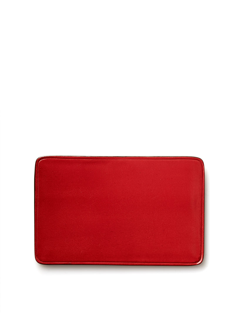 Il Bussetto Bright Red Leather Slimline Card Holder