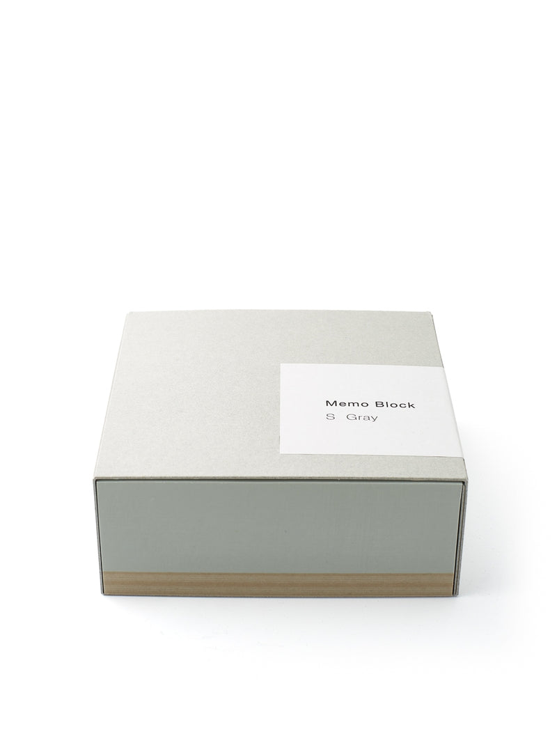 Ito Bindery Medium Memo Block Grey