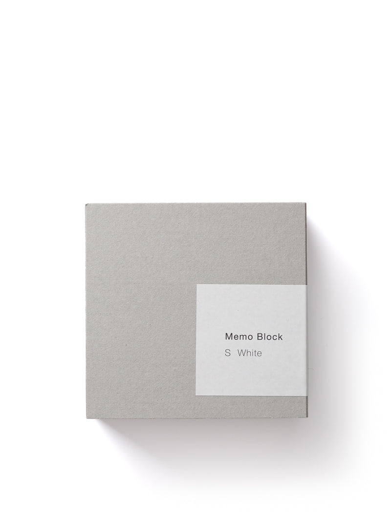Ito Bindery Medium Memo Block White