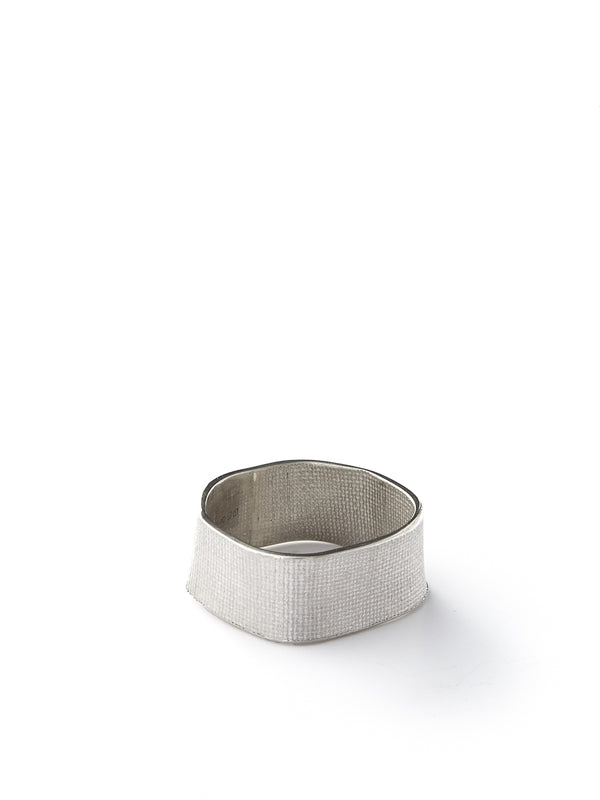 Kei Tominaga Twisted Square Ring Silver
