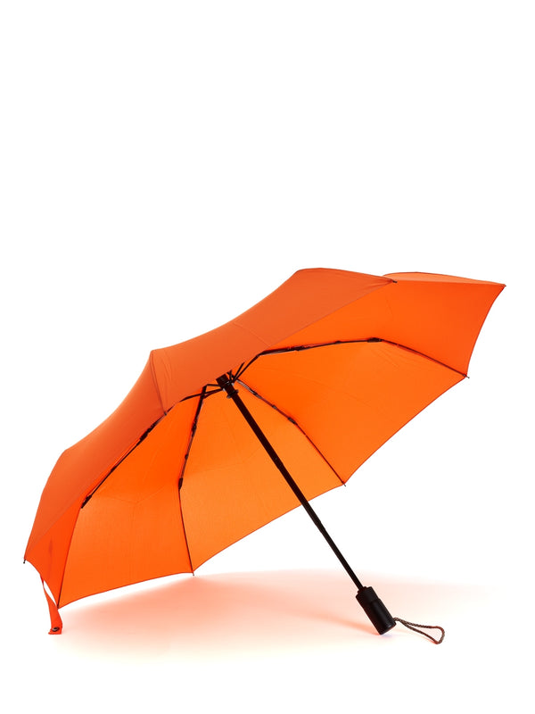 London Undercover Auto-Compact Umbrella Orange