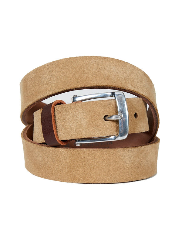 Manor Belt Suede Hazelnut