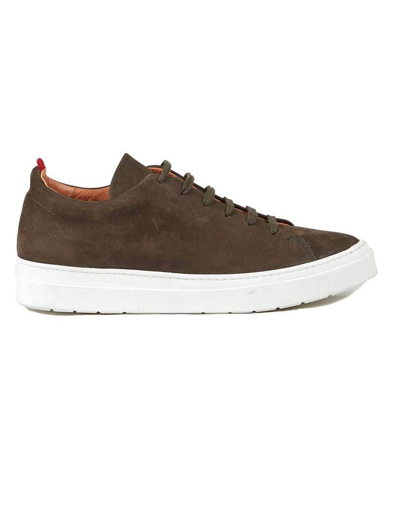Marton Trainer Nubuck Green