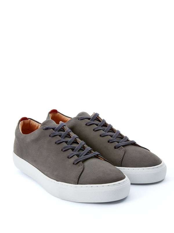 Marton Trainers Leather Nubuck Grey