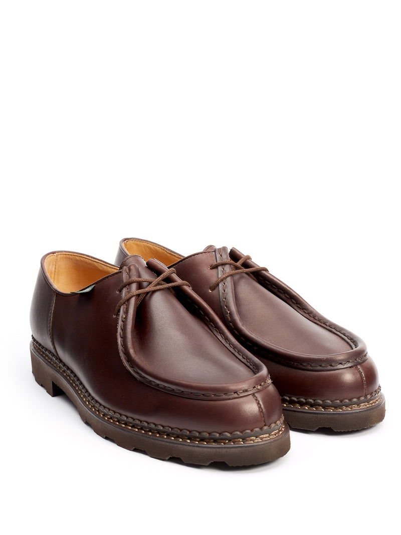 Paraboot Michael Smooth Leather Coffee
