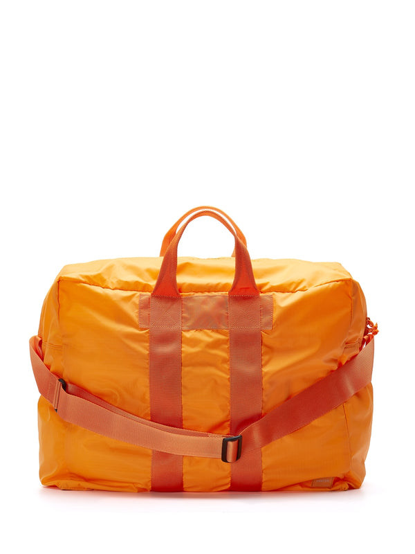 Porter Flex 2Way Duffle Bag Orange