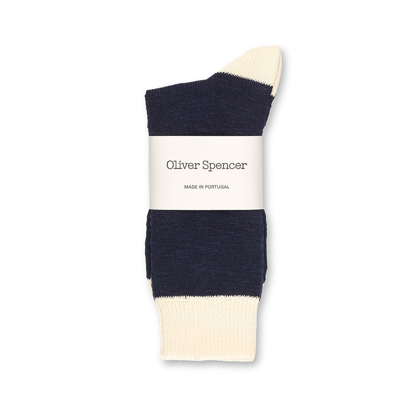 Miller Socks Harbour Navy