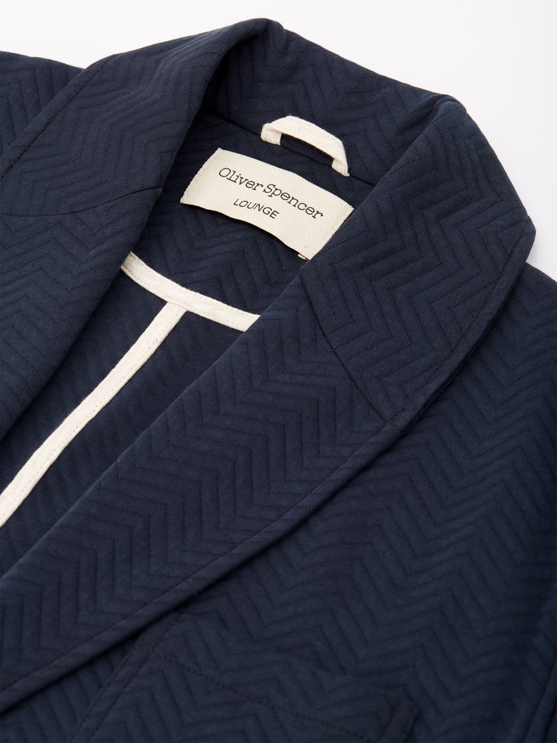 Lounge Robe Warwick Navy