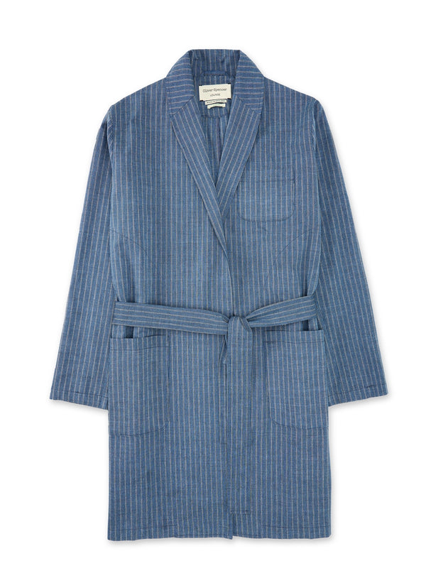 Dressing Gown Townsend Blue