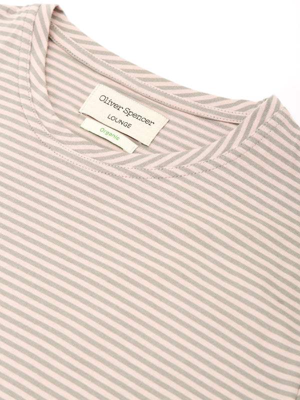 Lounge T-Shirt Danbury Pale Pink/Grey