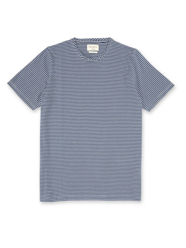 Lounge T-Shirt Danbury Marine Blue/Grey