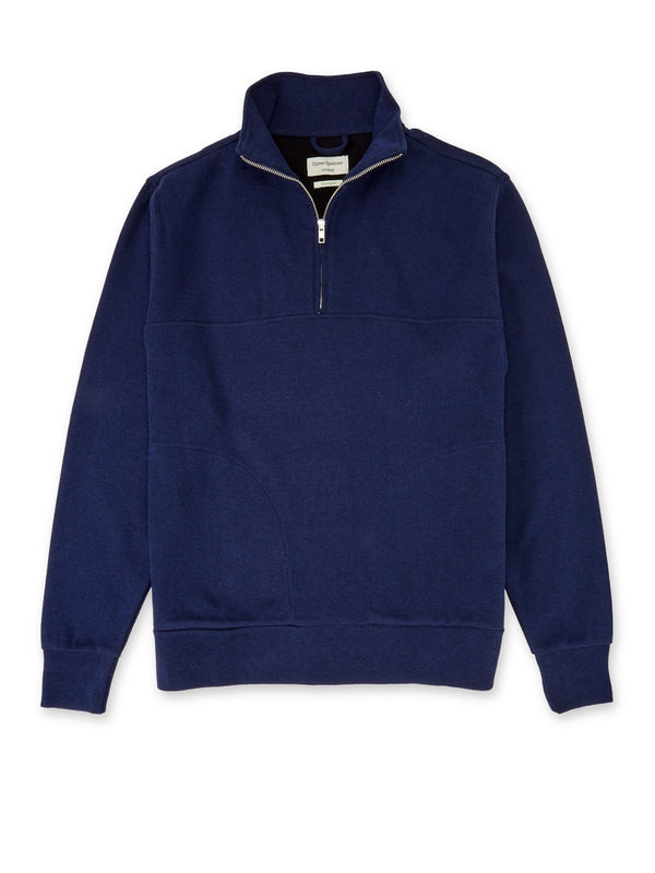 Half Zip Sweat Milner Midnight