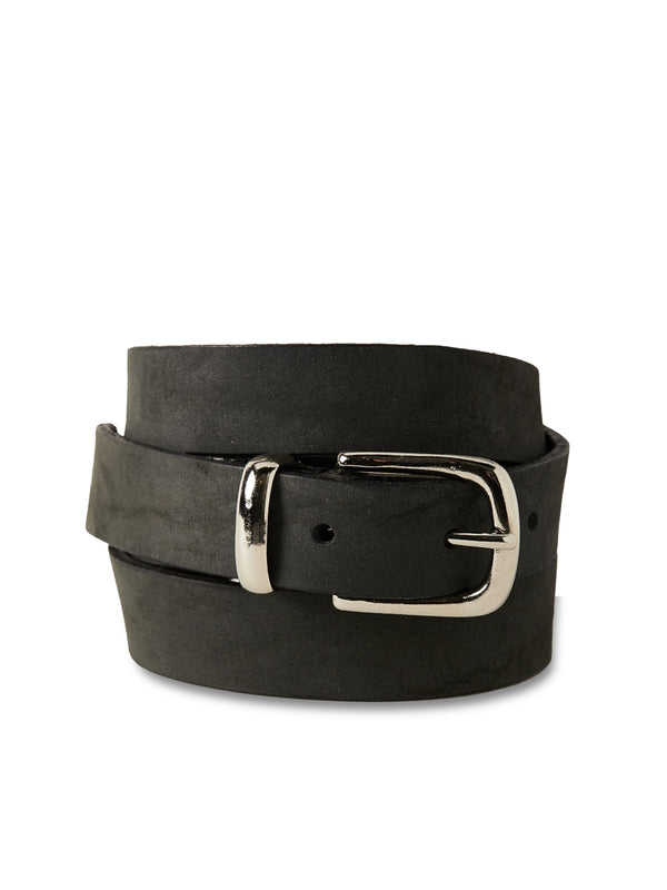 Coniston Belt Nubuck Black