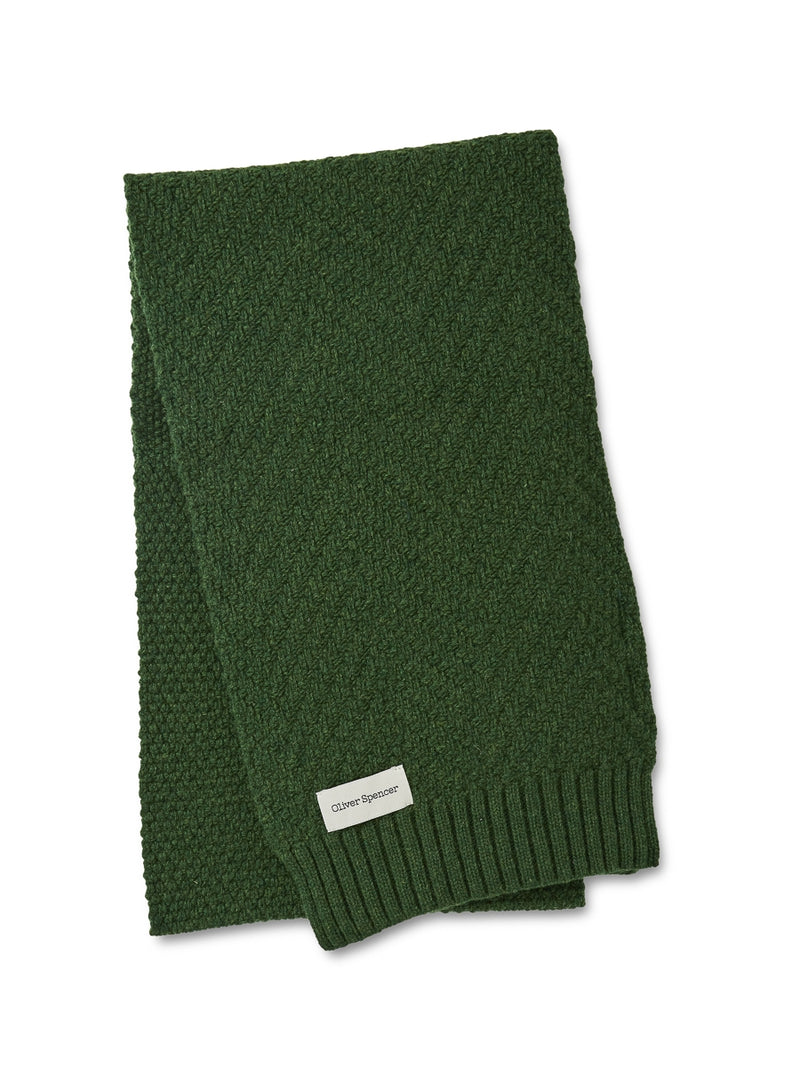 Arbury Scarf Bernina Green