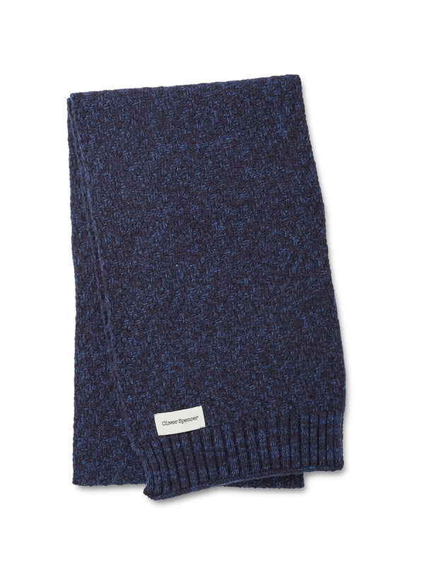 Arbury Scarf Hereford Navy/Blue