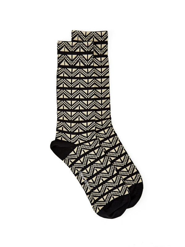 Miller Sock Steele Black