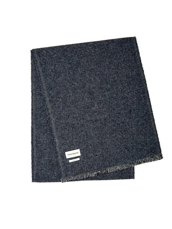 Mores Scarf Ripley Navy