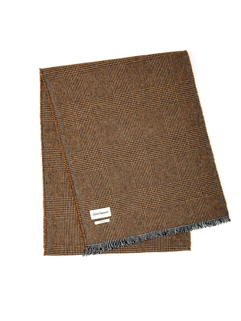 Mores Scarf Ripley Ochre