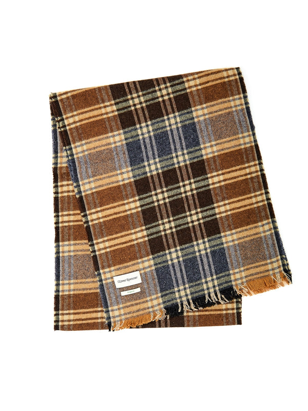 Hause Scarf Boxley Brown