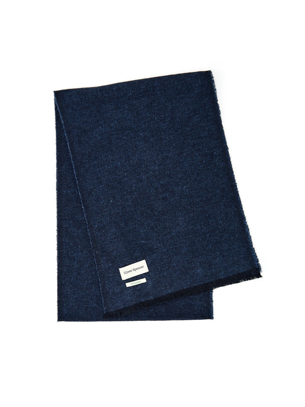 Hebden Scarf Wingate Navy
