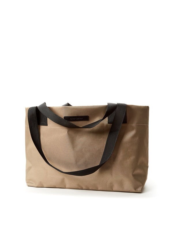 Tote Bag Nylon/Leather Beige/Black