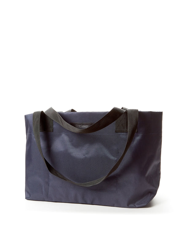 Tote Bag Nylon/Leather Navy/Black