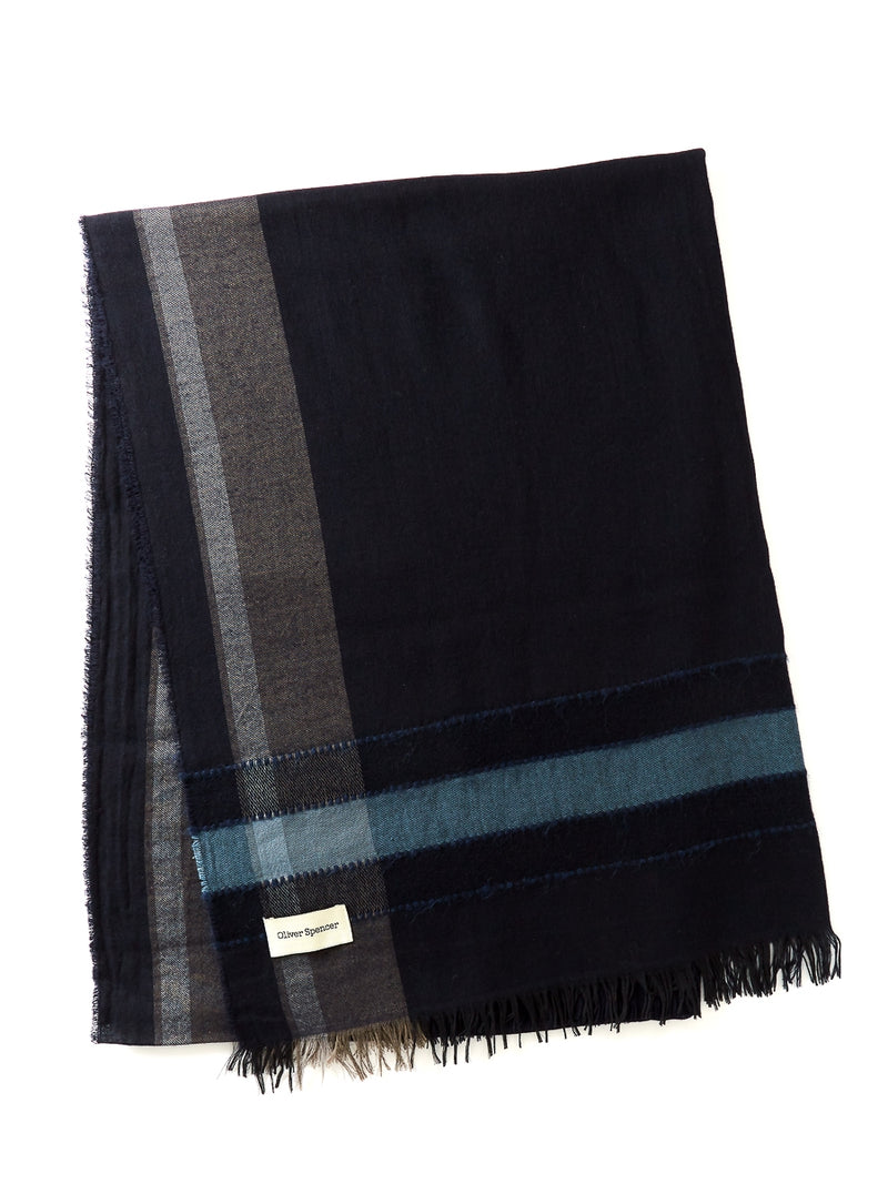 Holland Scarf Milosh Navy