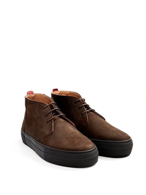 Beat Boots Nubuck Leather Brown