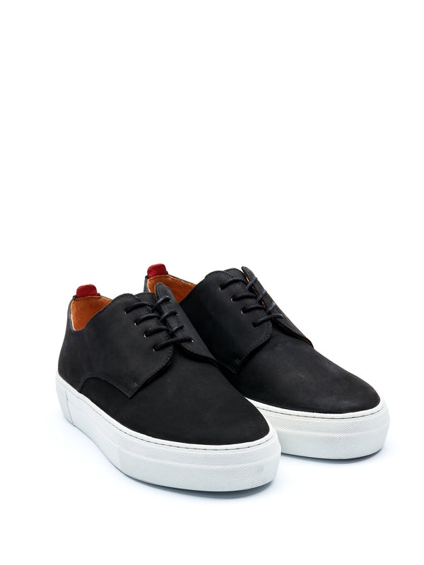 Coventry Shoe Nubuck Black