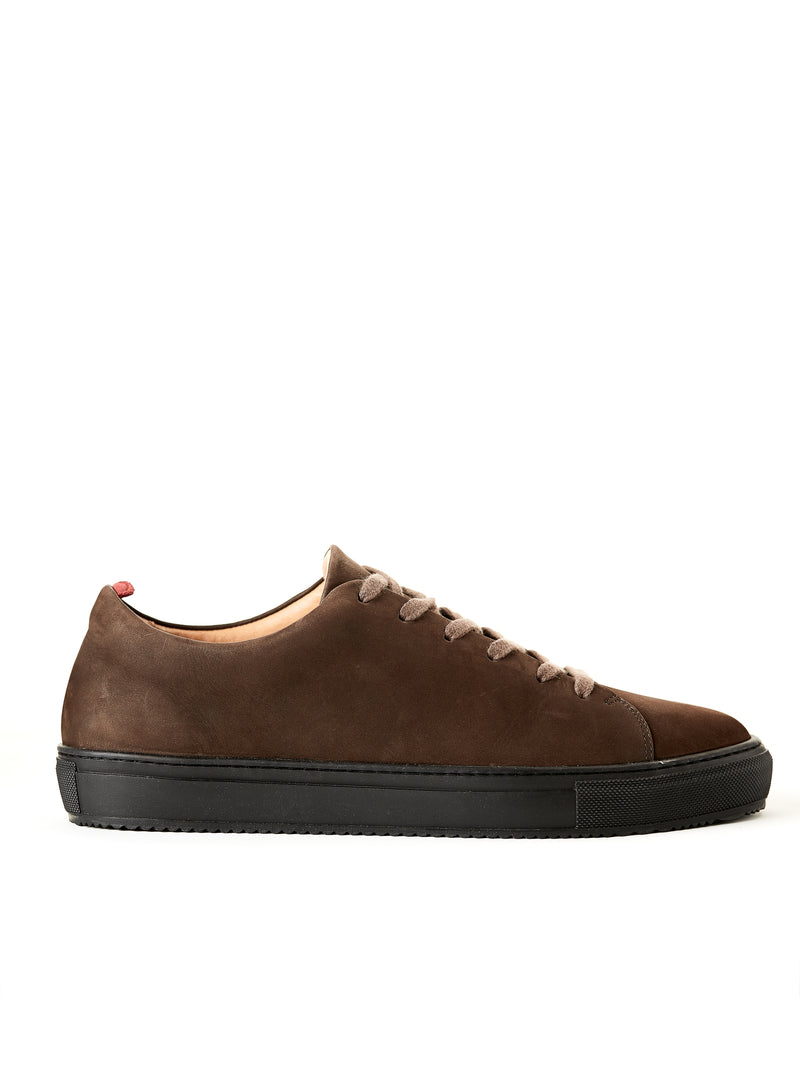Marton Trainer Nubuck Brown