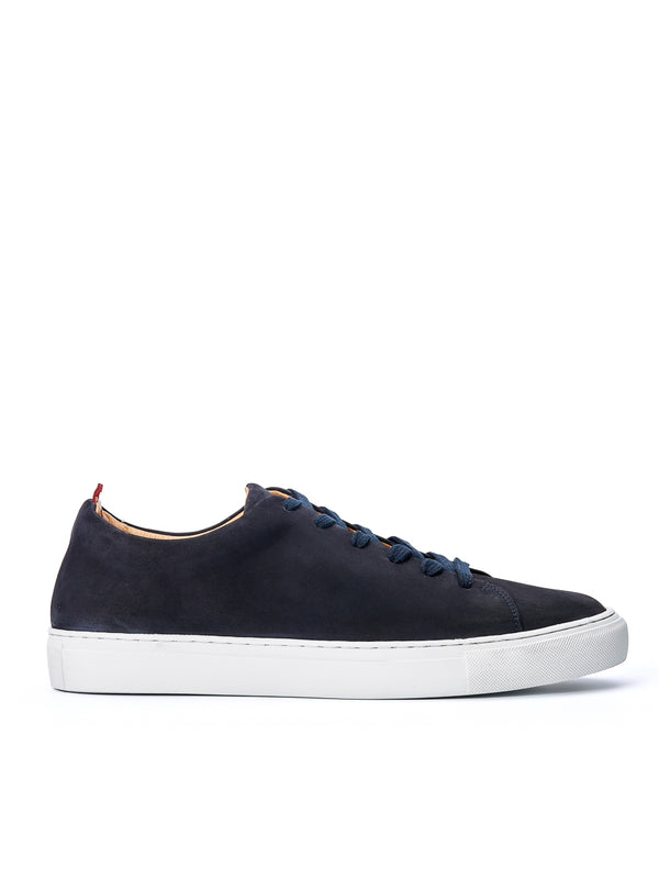 Marton Trainers Leather Nubuck Navy
