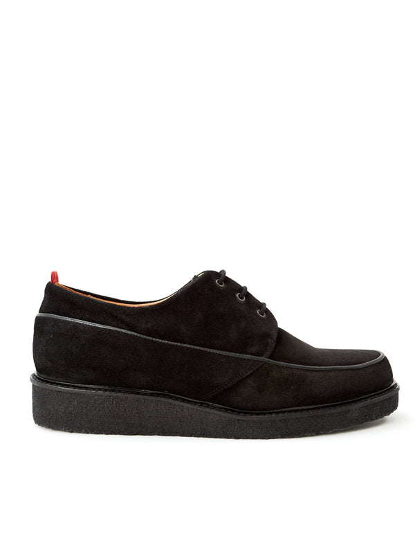 Hoxton Shoe Suede Black