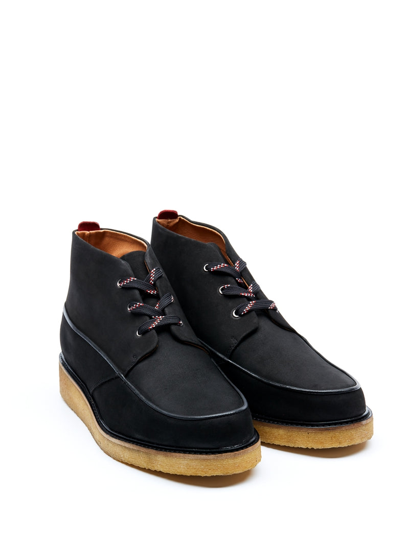 Hoxton Boots Leather Nubuck Black