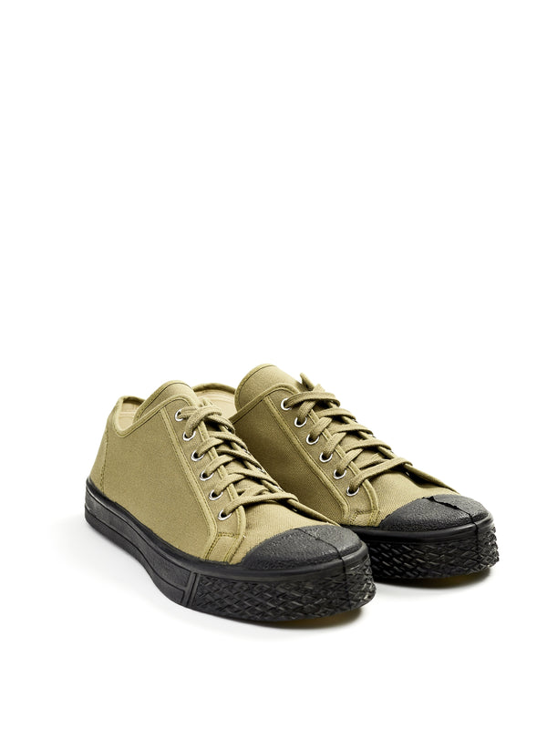 US Rubber Military Low Top Green