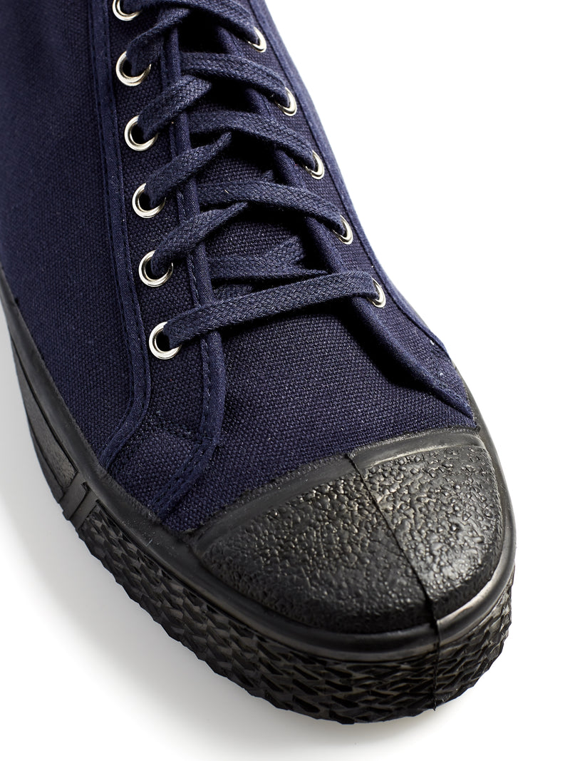 US Rubber Military Low Top Navy