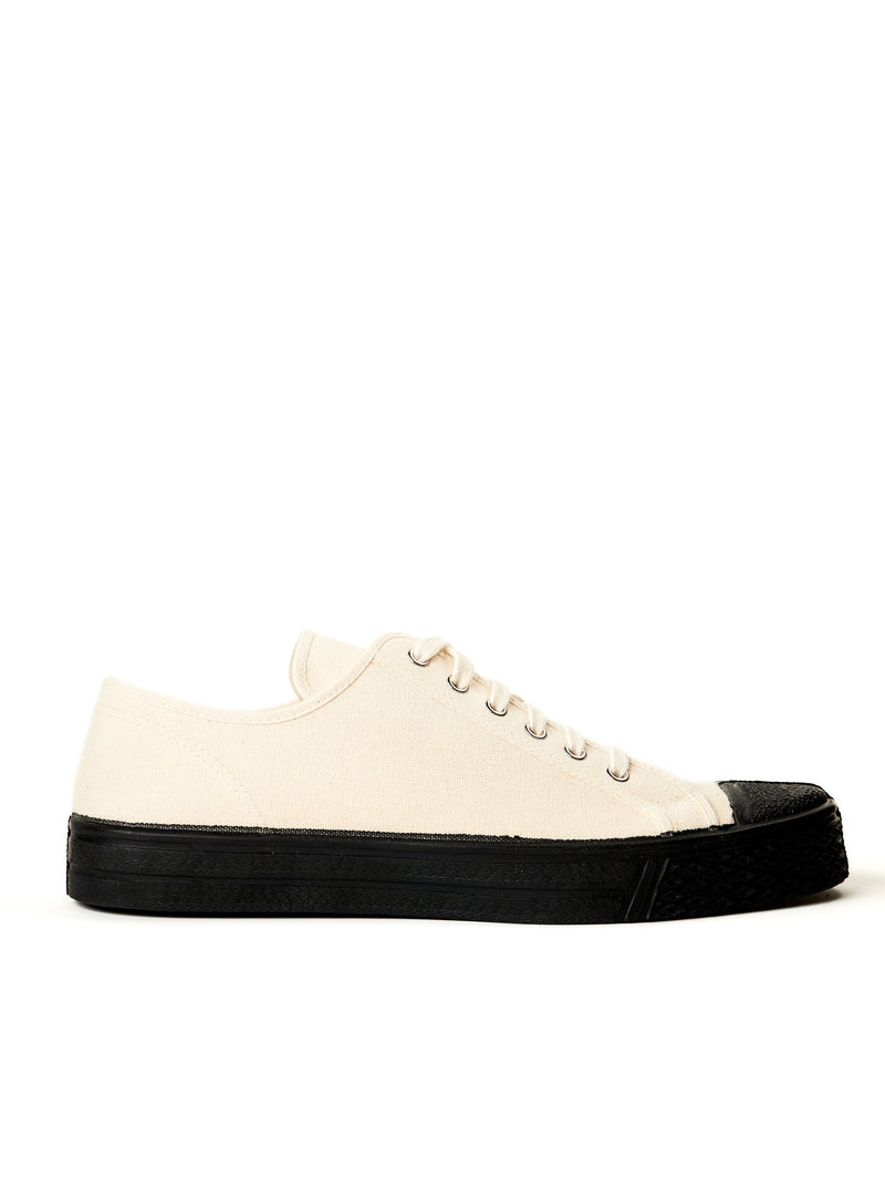 US Rubber Military Low Top White
