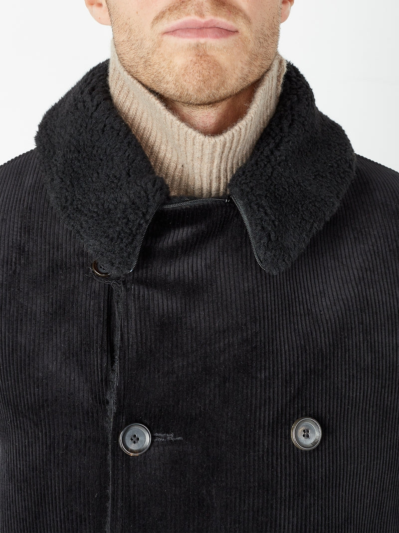 Newington Coat Kingsley Cord Black