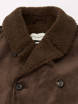 Newington Coat Kingsley Cord Brown