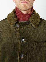 Brockwell Jacket Kingsley Cord Green