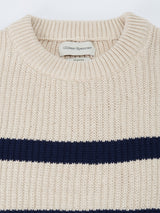 Blenheim Jumper Sidney Ecru/Navy