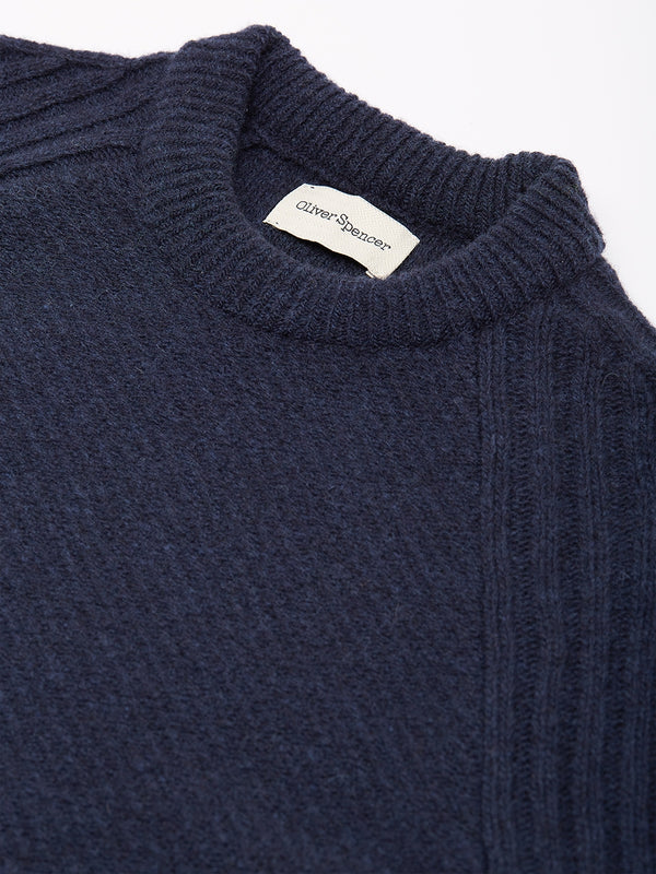 Blenheim Jumper Carew Midnight