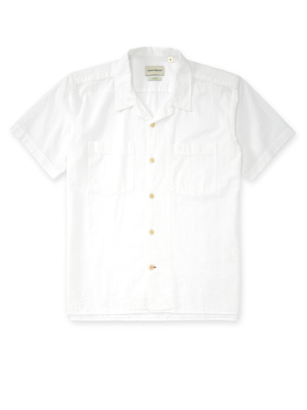 Havana Short Sleeve Shirt Hattison White