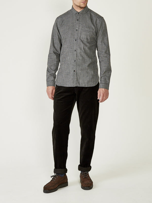 Eton Collar Shirt Fallon Charcoal