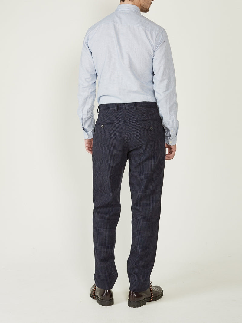 Fishtail Trousers Forster Navy