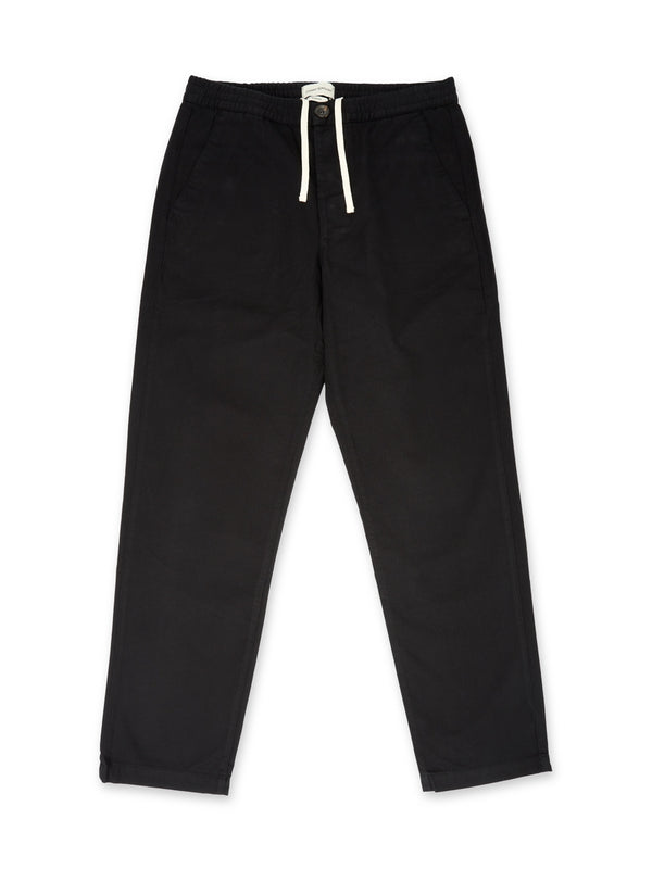 Drawstring Trousers Eden Black