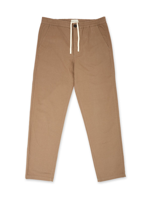 Drawstring Trousers Eden Tobacco
