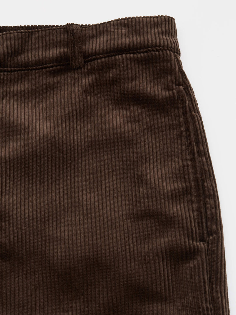 Judo Trousers Kingsley Cord Brown