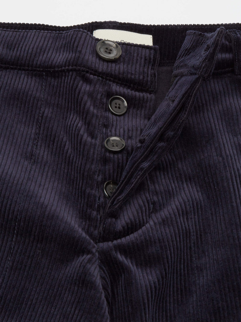 Judo Trousers Kingsley Cord Navy