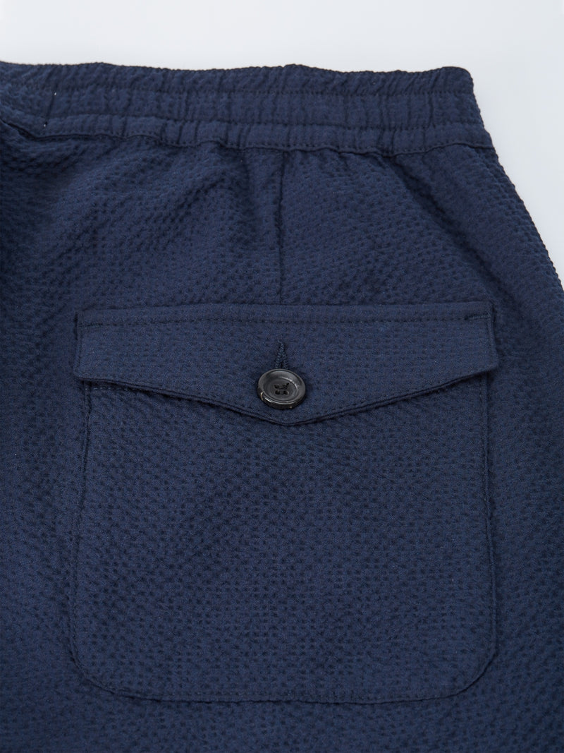 Drawstring Trousers Cobham Blue
