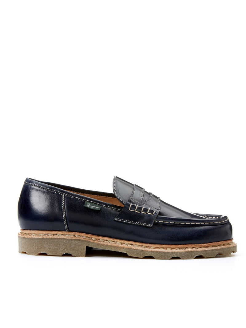 Paraboot Reims Loafer Navy Leather